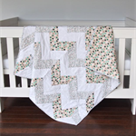 Baby Quilt - Cot Quilt - Baby Bedding - Nursery Bedding