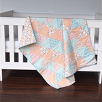 Baby Quilt - Cot Quilt - Baby Bedding - Nursery Bedding - Custom Order Only