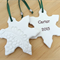 Personalised Christmas decorations, ornaments.  Teachers gift.