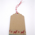 Christmas Gift Tags - set of 6 - Red Deer