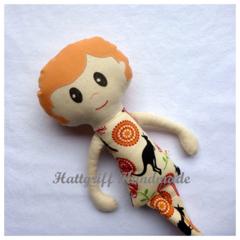 CUSTOM ORDERED Lookalike Little Mate Fabric Doll