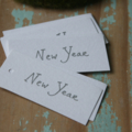 12 New Year Gift Tags ~ 2020 New Year's Dinner Party ~ Icebreaker Tags