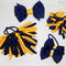 Bella 'Classic' School Bow Pack -  Custom Made in school colors