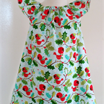 'Chirpie' Girls Christmas Seaside Dress 