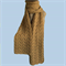 Luxury Scarf 100% Camel Fibre, Handspun and Handknitted, Natural Camel Colour