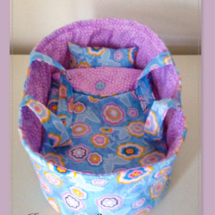 Medium Doll Carry Basket