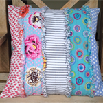Patchy cushion