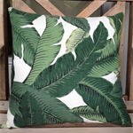 Tommy Bahama palm leaves cushion
