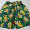 "Custom Listing for Kylie - Size 5 ""Xmas Minions"" shorts"