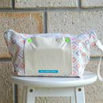 nappy bag. nappy wallet. nappy clutch. tribal jungle diamond print