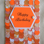 Layered Circle Birthday Card