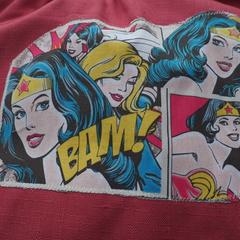 Age 9 - 12 years Wonder Woman: art smock  (upper primary school.)