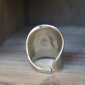Vintage Silver Spoon Cuff Ring