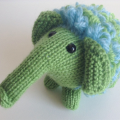 Woolly Mammoth | Softie | Toy | Christmas Present | Pure Wool | Hand Knitted
