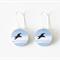 Blue Bird Dangle Earrings - Small Bird Earrings