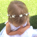 "RESERVED FOR JESS ""Willow"" floral halo"