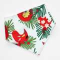 Christmas Red Robin Bandana Dribble Bib