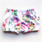 Rainbow Rose baby girls  bloomer, flexi shorts / nappy cover