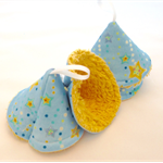 Peepee teepees, tinkle tents, boy baby shower gift, boy nappy change accessory