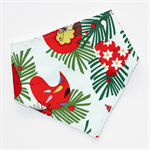 Christmas Red Robin Bandana Dribble Bib