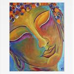"""Buddha print - Buddha wall art -  Buddha decor - 8x10"""" print (unmatted/unframed)"""