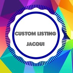 Custom listing for Jacqui Kids Colour Me In Messenger Bag