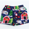 Christmas Boys Shorts  - Farmyard, Tractors, - Size 00 - 3