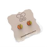 NEW Designer Earrings - Neon Summertime Circles