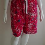 Plus size bluebird cotton PJ shorts