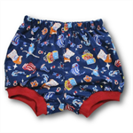 Baby Boys Cotton Bloomer Shorties - Pirateships