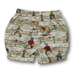 SIZE 0 Baby Boys Bloomer Shorts - Cowboys