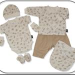 SIZE 0000 Unisex Baby 7 piece Gift Set
