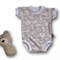 SIZE 000 (0-3mths) Handmade Baby Bodysuit... Jungle Animals