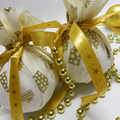 Christmas Wrapped Soap Ball, Handmade soap gifts