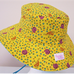 Toddler Hat ~ Confetti ~ Wide Brim