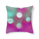 Pink Pop Bokeh from the 'Living' Cushion Range by Bessi Blu