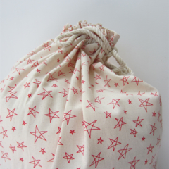 Christmas Santa Sack - Star