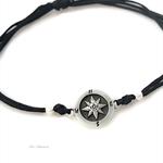 Compass bracelet, friendship bracelet