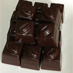 Coffee bean ganache in Rich Dark Belgian Chocolate