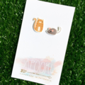 Buy 3 get 4th FREE - Cat & Mouse Earrings