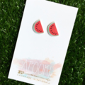 Buy 3 get 4th FREE - Watermelon Earrings