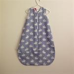 0-6 mths  Hot Summer 27C+ Baby Sleeping Bag Travel Bag Cotton Muslin Unisex