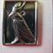 Black Metal pendant comes with free chain. Horus - Egyptian God
