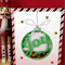 Joy Christmas Shaker Card