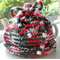 Tea Cosy - Red, Black and White