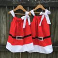 Santa Dress, super cute for Christmas.