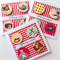 Red gingham birthday wishes all designs one off design vintage her card