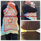 Babywearing hooded star blanket
