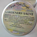 Gardeners Salve with pomegranate seed oil.