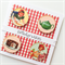 Vintage red gingham birthday wishes all designs are a one off design card
